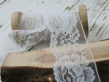 Classic White Lace, Sold by the Metre, 5 Metre or 10 Metre, Cards, Embellishment