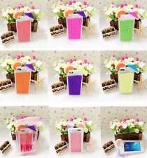 2014 NEW PINK Summer Drink Cocktail Soft Silicone Case Cover For IPhone5 5s/4 4s