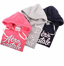 Aeropostale Women AERO 87 Athletic Popover Hoodie Sweater - Free $0 Shipping