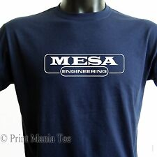 MESA ENGINEERING T-SHIRT guitar tube amplification boogie - ALL SIZES - 5 COLORS