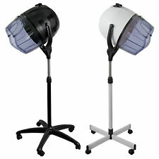 Salon Chair Hooded Bonnet Hair Dryer - Standing Rolling Stand Up Floor Hood
