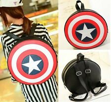Hot Avengers Captain America Shield Student Backpacks Book Childern School Bags