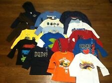 Toddler Boys 24 Months Graphic Long Sleeves Asst Styles NWT **Buy 2 Get 1 Free**