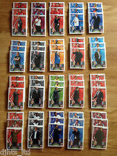 Match Attax 13 14 Full Team Sets - BASE + FOILS + MANAGER + EXTRA - All cards!!!