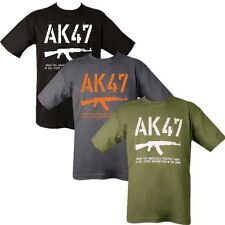 AK47 T-SHIRT 100% COTTON SNIPER RIFLE FUNNY GUN MILITARY RUSSIAN KALASHNIKOVA