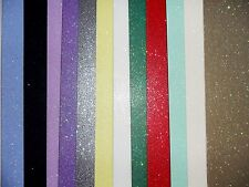 Good quality A4 Glitter Card 3 Sheets Same Colour A4 Glitter Card