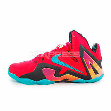 Nike Lebron XI Elite [642846-600] Basketball Super Hero Pack Laser Crimson/Green