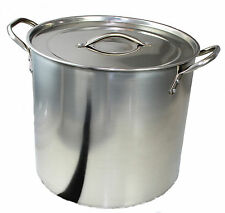 BUCKINGHAM STAINLESS STEEL STOCK POT SOUP STEW CASSEROLE POT COOKING BREW PAN