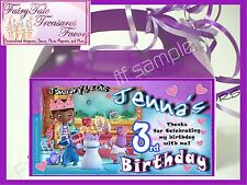 DOC MCSTUFFIN'S Birthday Favors Goody Loot Box PERSONALIZED
