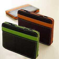 Delicate Money CLIP Leather Wallet Holder Billfold Credit/ID Card Cover Case CO9