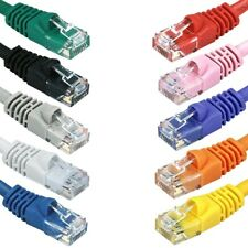 Cat5E Stranded UTP LAN Internet Network Ethernet (Cat-5) Cable Cord RJ45 1-25ft