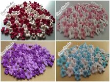 """50x0,55''&50x0,4"""" Edible Sugar Flowers Blossoms For Cakes & Cupcakes"""