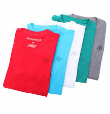 Aeropostale Men Short Sleeve A87 Slub V-Neck T-Shirt Style 8441 $0 Free Ship