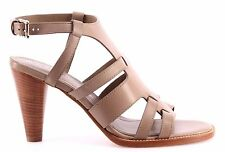 Women's Shoes Sandals Heels TOD'S Leather Dove Made In Italy Luxury New