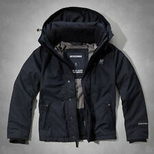 2014 Abercrombie & Fitch Mens All Season Weather Warrior Jacket Fleece Navy NWT