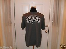 New Gray San Antonio Spurs Tim Duncan #21 Majestic Name & # Player T-Shirt