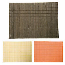 PLACEMATS TABLE MATS BAMBOO SUSHI ORIENTAL EXTRA LARGE TABLE WARE WOOD DINING