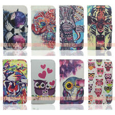 For Samsung Galaxy S5 i9600 PU Leather Flip Stand Card Wallet Case Cover Holder