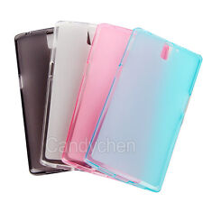 Soft Silicone TPU Back Case Cover Skin+ Screen Protector Film For OnePlus One 1+