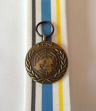 UN Police Support Group Full Size Medal, Loose, Court or Swing Mounted, UNPSG