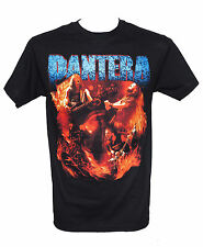 PANTERA - FLAMES VINTAGE - LIMITED EDITION - Official T-Shirt - New S M L XL
