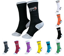 2 Ankle Support Muay Thai MMA Boxing Compression Wrap Brace DIFFERENT COLORS!