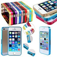 Clip-on Ultra thin Slim Aluminum Metal Bumper Frame Case for iPhone 4 4S 5 5S