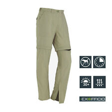 Womens Outdoor Hiking Traveling Convertible Pants Shorts Quick Dry ExOfficio