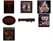 Cannibal Corpse Sew On Patch/Patches NEW OFFICIAL. Choice of 7 designs