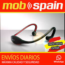 Auriculares Reproductor MP3 deportivo sin cables  Micro SD USB inalambricos bici