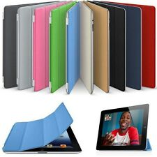 Ultra thin magnetic leather Smart Case Cover for APPLE iPAD 3 & 2 & iPAD 4