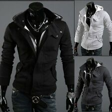 Assassin's Creed Revelations Desmond Miles Cosplay Costume Hoodie Jacket Coa new