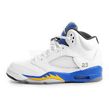 Nike Air Jordan 5 Retro GS [440888-189] Basketball Laney White/Maize-Royal