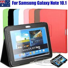 Flip Leather Case Cover for Samsung Galaxy Note 10.1 N8000, N8010