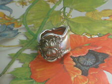 ~ORANGE BLOSSOM~Rogers 1910~Custom SPOON RING~Free Ship~PICK YOUR SIZE~