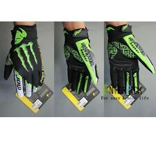 New Full Finger Cycling Bike Bicycle Motorcycle Winter Racing Gloves Size M L XL