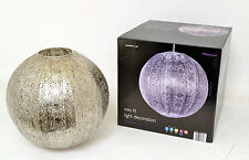 Moroccan Design Easy Fit Globe Ceiling Light Fitting Shade - Silver or Bronze