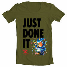 Army gr 'just done it' mens One Direction Jay-z Nike just do it inspired TShirt