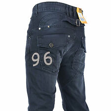 SALE G STAR RAW 96 ELWOOD-MENS HERITAGE EMBRO SAND DIRTY WASH  JEANS 70% OFF
