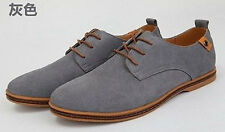 New Fashion Suede European Style leather Shoes Mens Oxfords Casual 11 Size