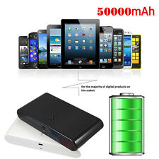50000mAh Portable Backup External Battery Power Bank Charger for Cell Phone