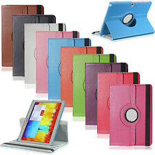 Hot 360° Rotating Leather Case Stand Cover For Samsung Galaxy Note 10.1 P600
