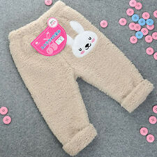 MLG-5021_ New Made in Korea Rabbit Microfiber Roll up Sleep Pants for baby