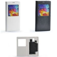 PU Leather Qi Wireless Charging Receiver Case Flip Cover For Samsung Galaxy S5