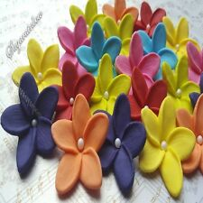 20 Edible Sugar Flowers Blossoms For Cakes Cupcakes Toppers