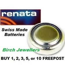 RENATA 371 SR920SW Swiss Watch Cell Battery Silver Oxide 1.55V New X 1,2,5,10
