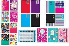 2014 - 2015 Academic mid year A4/A5 Week To View, Day A Page Diary and Planner
