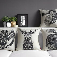 animal Deer pillow case pillow cover cushion case Throw pillow Decorative pillow