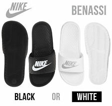 Women's NIKE Benassi JDI Slide Sandals. Sizes: 6 7 8 9 10 11 White or Black *NEW