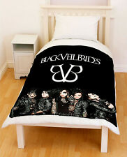 Black Veil Brides BVB Fleece Blanket / Fleece Throw 002